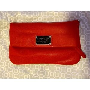 Marc Jacobs Red Envelope Clutch w/ straps